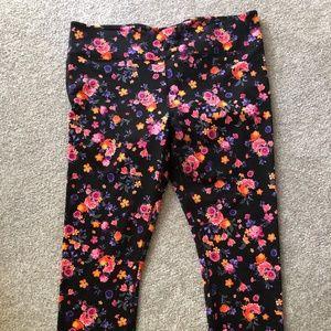 Fabletics Floral 7/8 Leggings